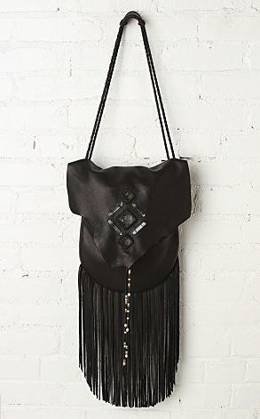 Three arrows leather bag - at freepeople.com