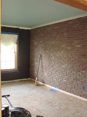 From Lowes Old Mill Thin Brick Systems 7 3 Sq Ft Box Smooth Boston Mill Brick Veneer Faux Brick Walls Brick Veneer Thin Brick
