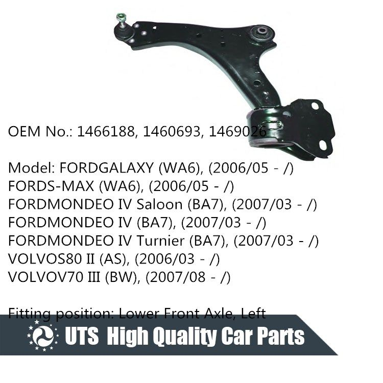 Ford Mondeo 1996-2000 Front Lower Suspension Wishbone N//S Passenger Left