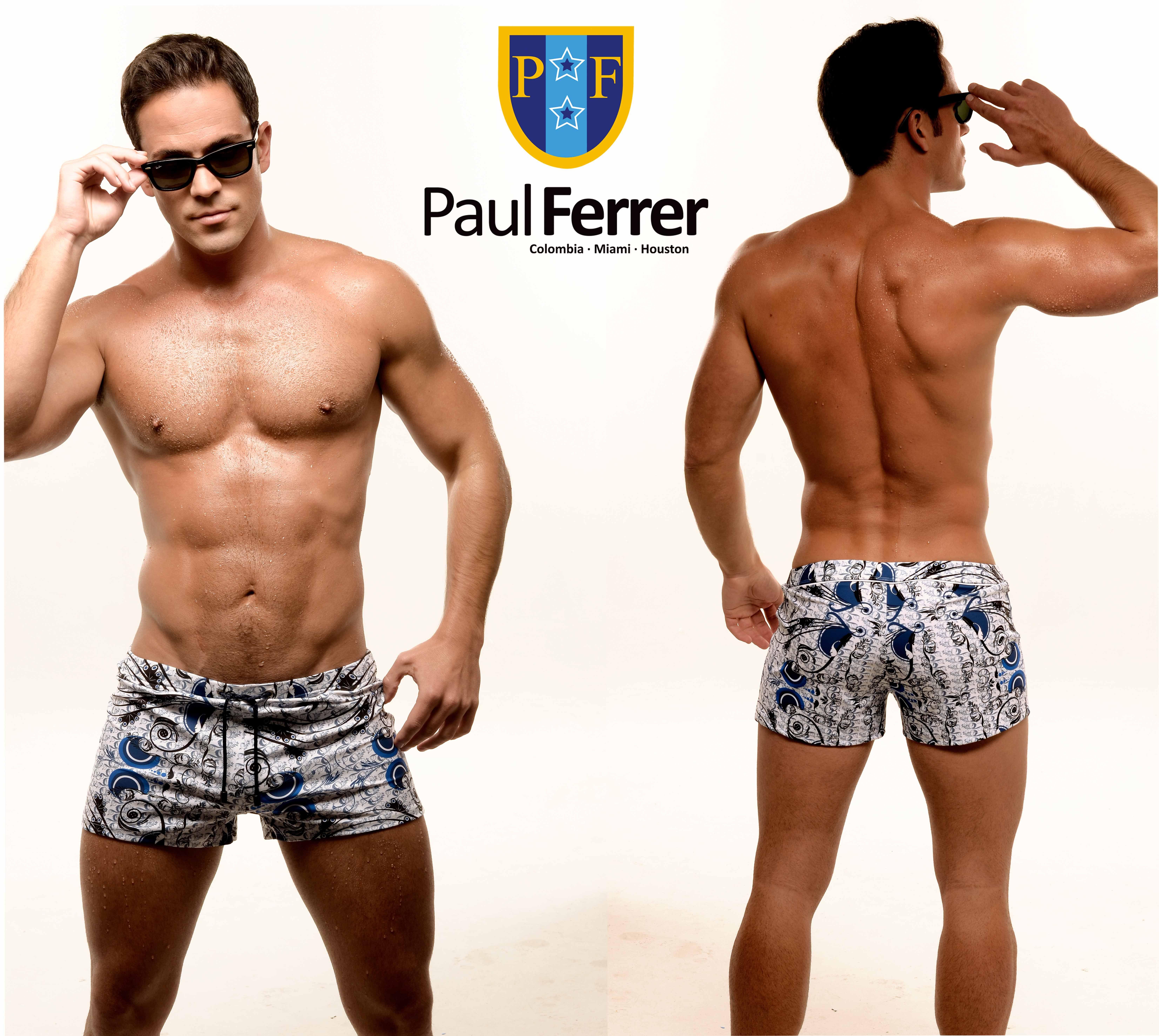 Traje De Swimwear Baño Men´s BrandmarcaPaulferrer Ropa Masculina R45AjL