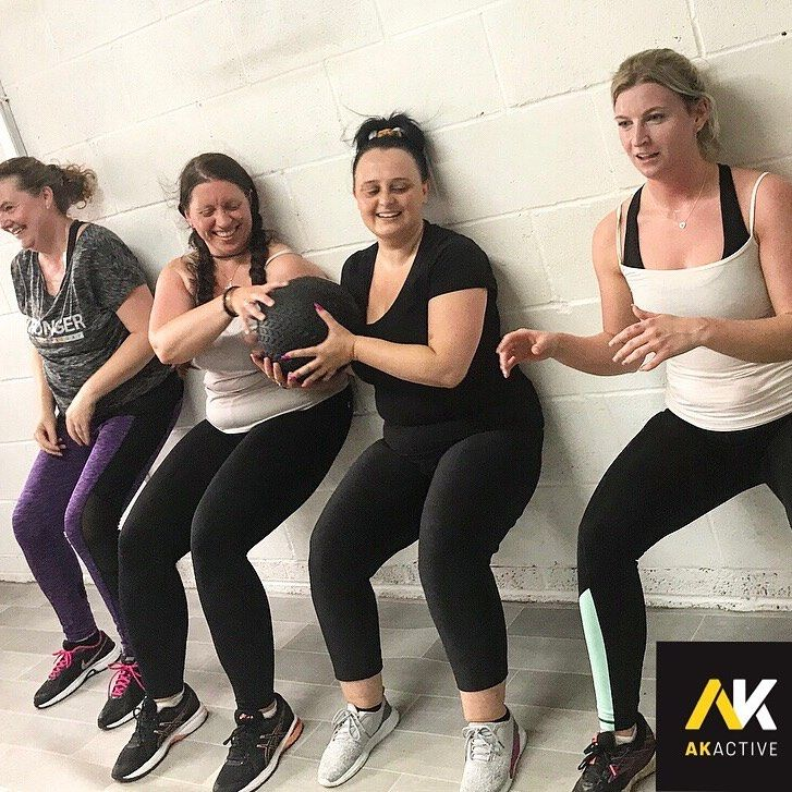 Building friendships in exercise groups keeps you motivated 🙌🏼 #exercises #fitness #workou...