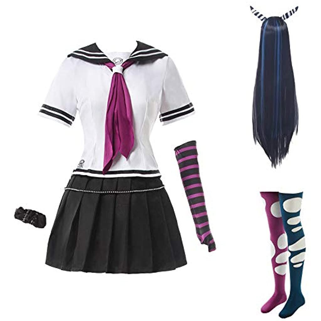 Super Danganronpa 2 Ibuki Mioda Cosplay Costume Full Set