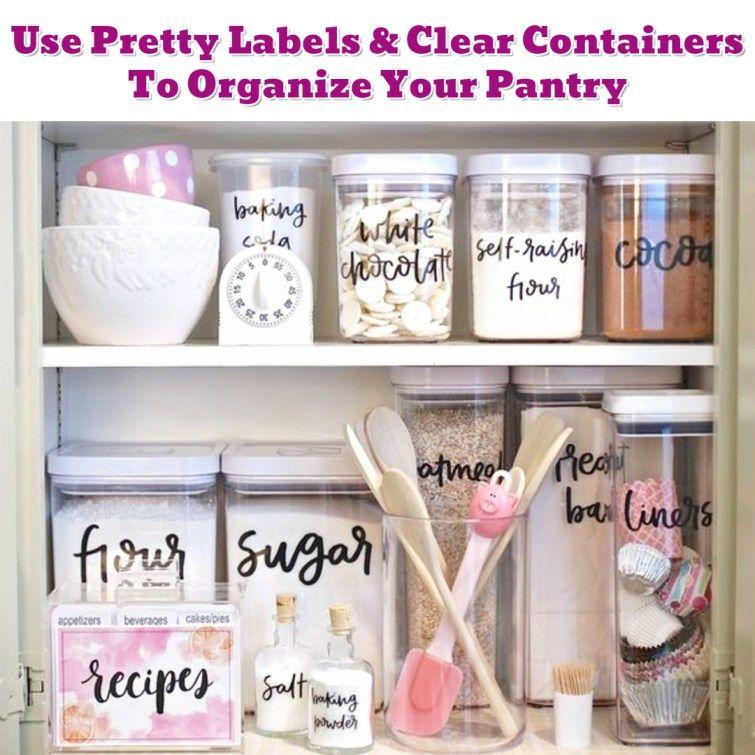 Kitchen Cabinet Organization Hack Getting Organized 50 Easy Diy Ideas To Help Get