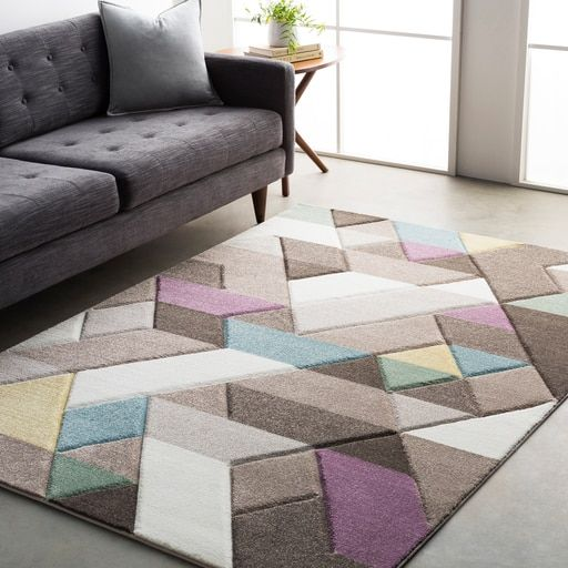 Catharine Purple Area Rugs