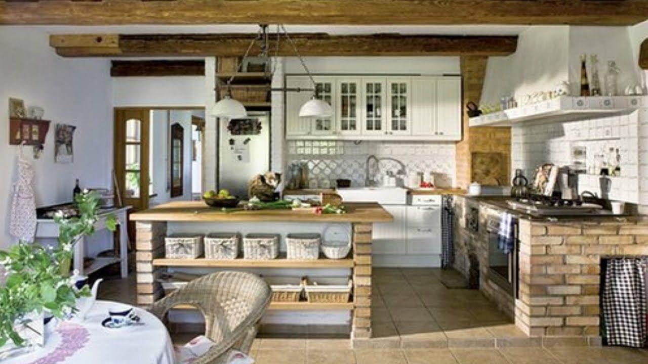 Resultado De Imagen Para Cocinas Rusticas De Campo Pequenas Kitchen Design Examples Kitchen Design Stylish Kitchen Design