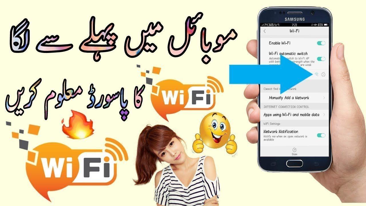 wifi info view portable
