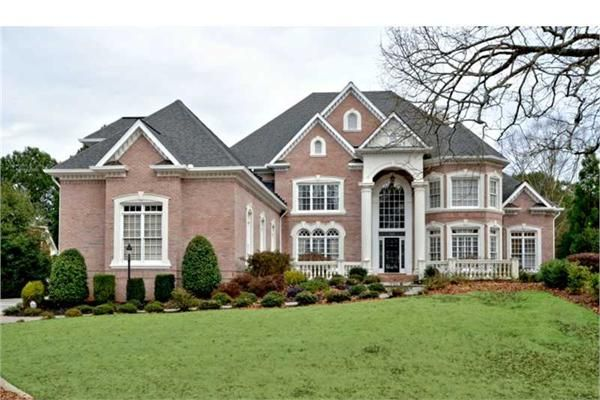 Very Nice House In John S Creek Ga On A Golf Course It Is