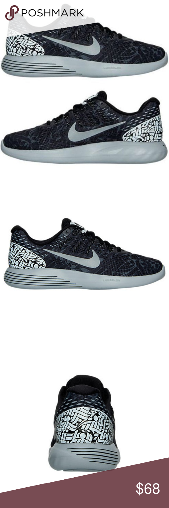 5ea68e9451a3 ... best price nike x rostarr lunarglide 8 running shoes gently used.  features killer collab like
