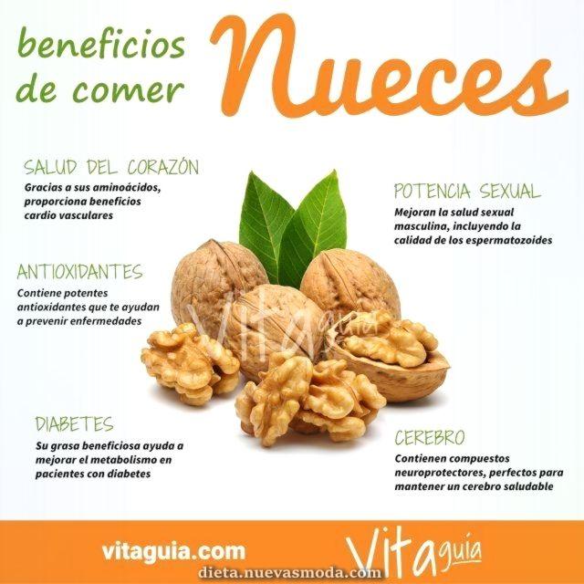 Beneficios de comer nueces para adelgazar
