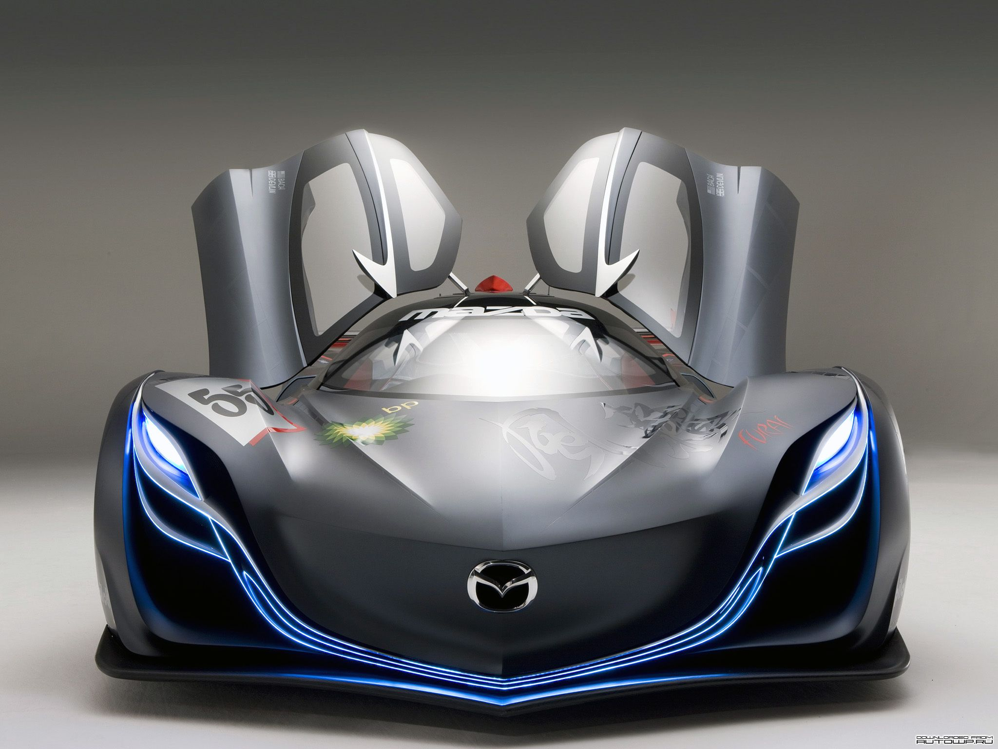 Mazda s first rotary concept car is unveiled