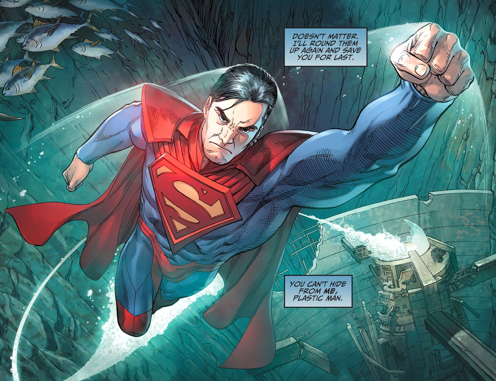 Superman (Injustice Year 5 1) Superman, Injustice comic