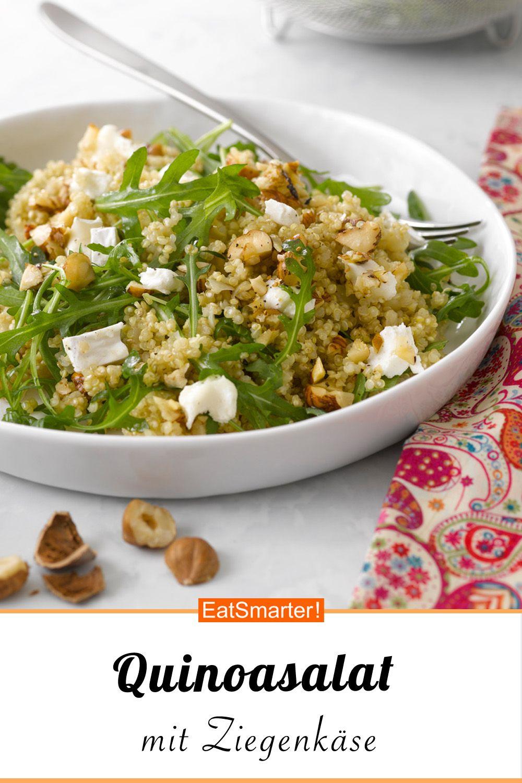 Photo of Arugula, quinoa and goat cheese salad
