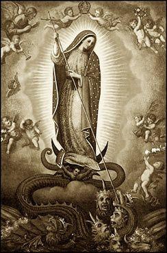 La Plus Terrible Ennemie Du Diable Est La Tres Sainte Vierge Marie