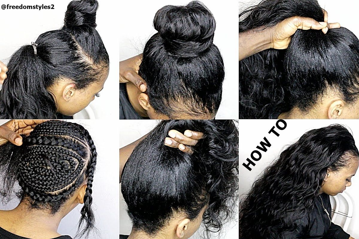 HOW TO DO NATURIAL LOOKING SEWIN WEAVE ( SUMMER HAIR