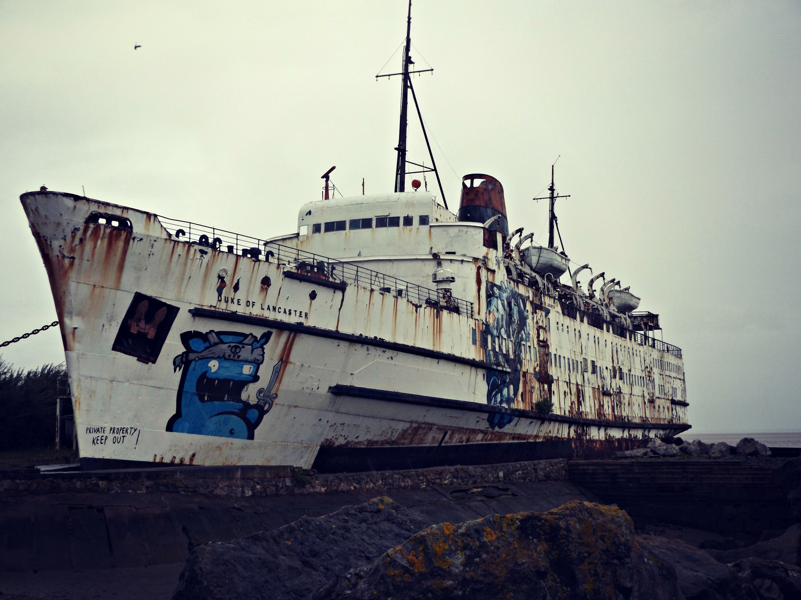 The Duke of Lancaster, North Wales