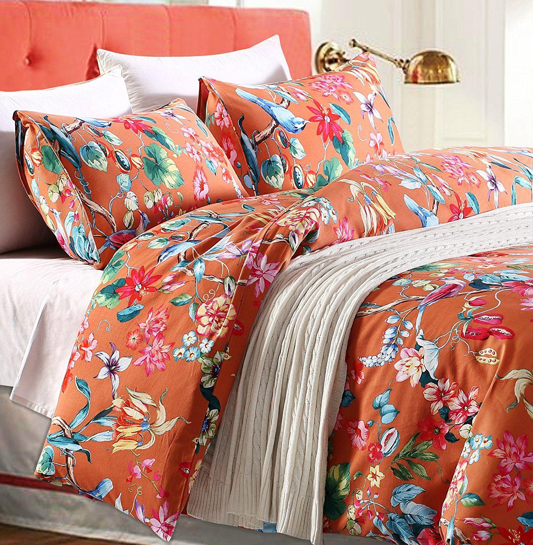 Tropical Garden Luxury 3 Piece Duvet Cover Set