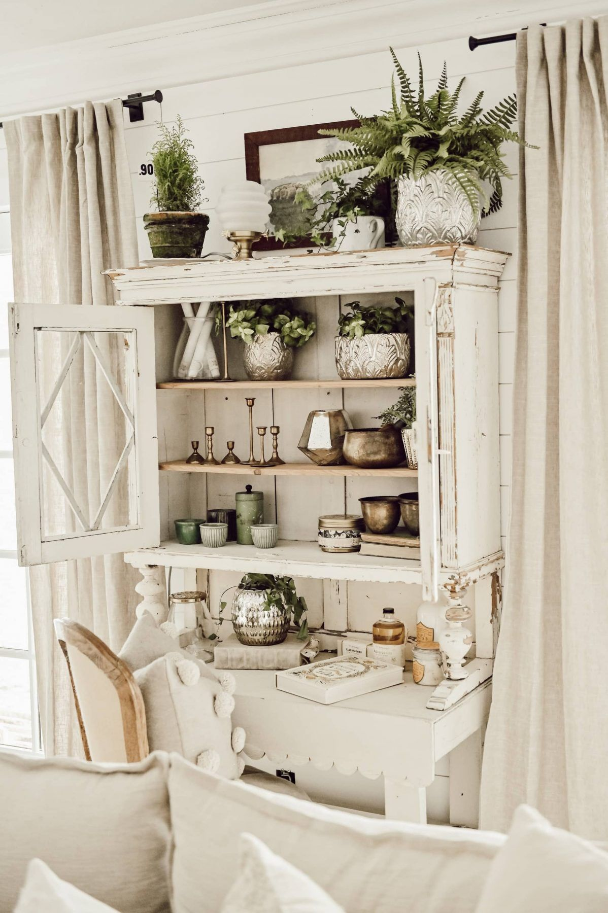 The Best Spring Entryways Farm House Living Room White Home Decor Country House Decor