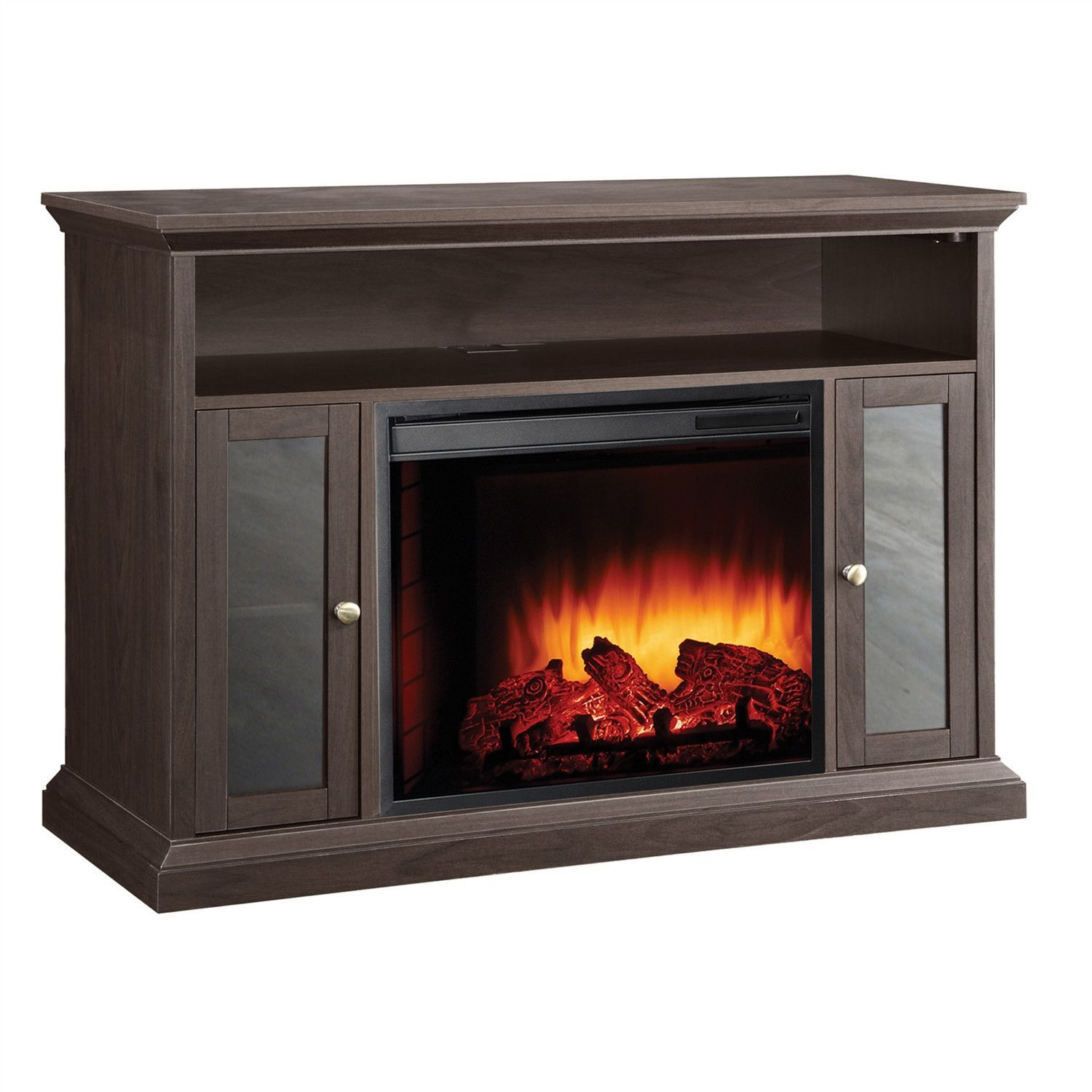 electric fireplace space heater tv stand 13500 watt home