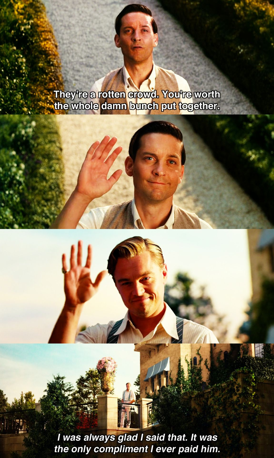Lets go to the movies good movies the great gatsby