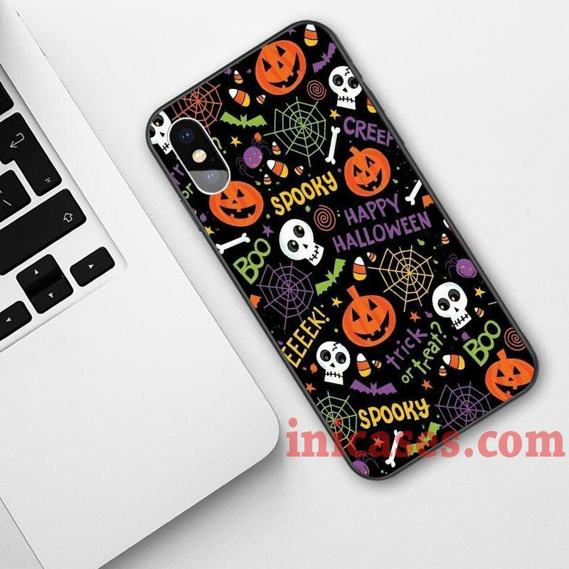Spooky Halloween Phone Case For iPhone XS Max XR X 10 8 7