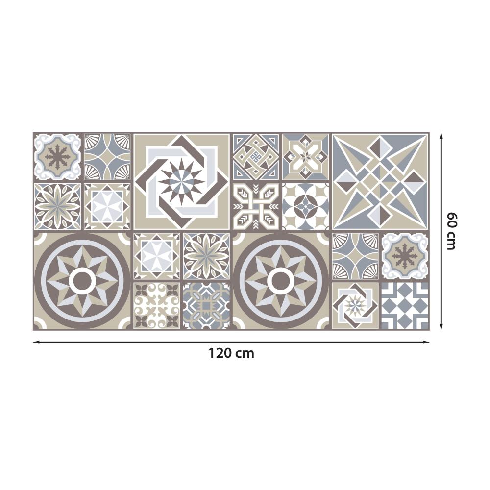 Limestone Spanish Tiles Melange Self Adhesive Floor Stickers Etsy In 2020 Floor Stickers Spanish Tile Create Decor