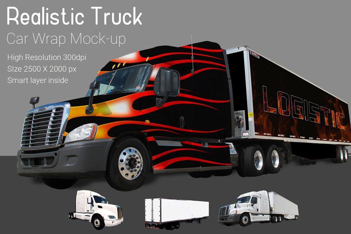 Food truck mockup vr2 mockup used trucks mocking