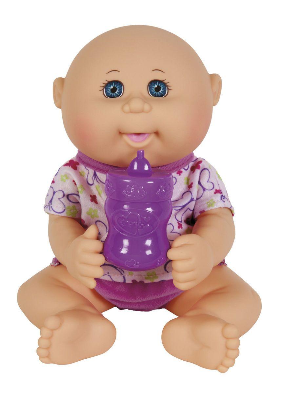 Baby Girl in Purple Fashion Drink N/' Wet Newborn Baby Doll Cabbage Patch Kids