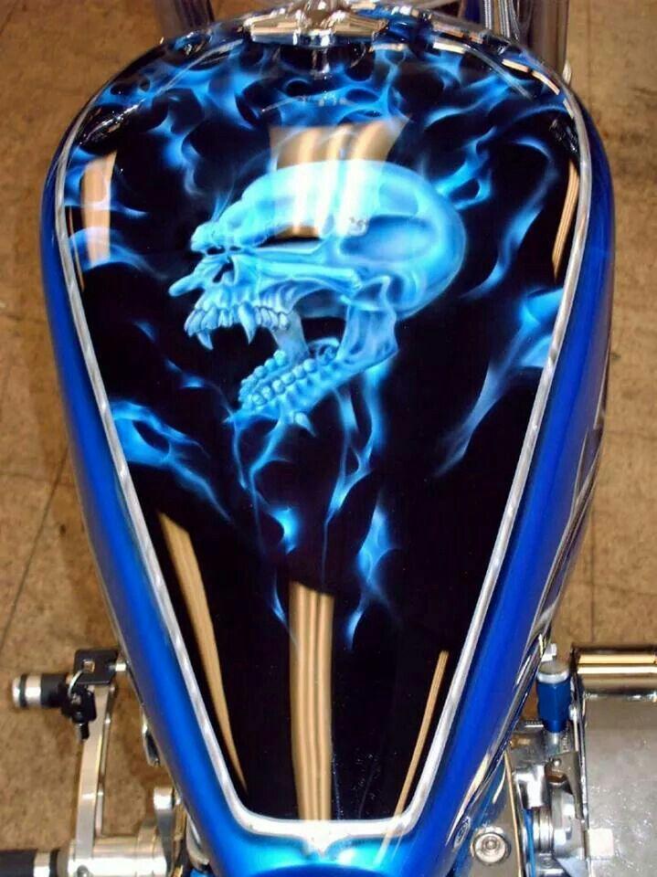 Custom | Custom paint | Custom paint motorcycle, Motorcycle