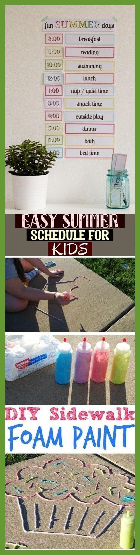 Easy Summer Schedule For Kids Easy Summer Schedule Für Kinder - Papercraft & Animal Plush #summerschedule Easy Summer Schedule For Kids * easy summer schedule für kinder #summerkids #summerschedule