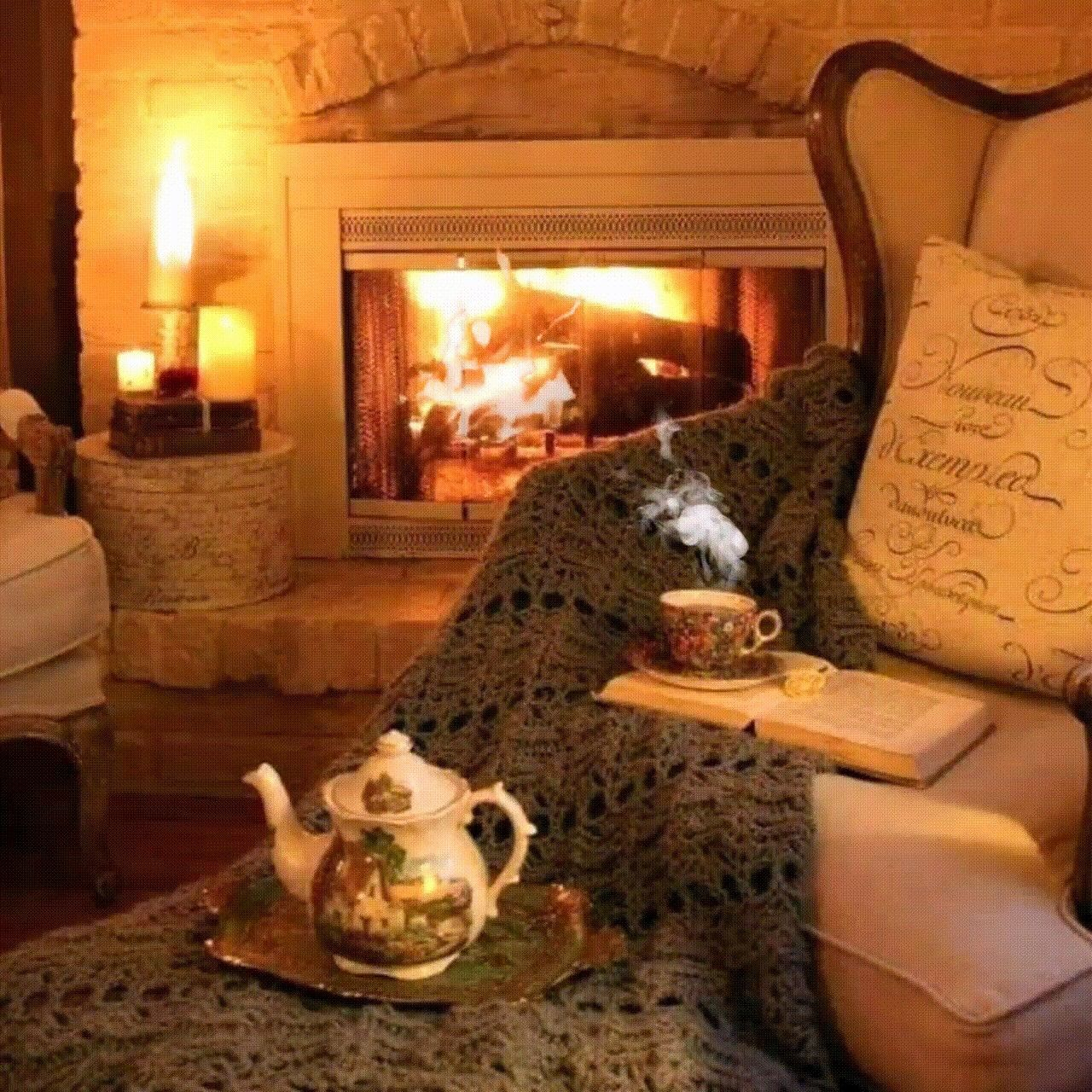 Pin by Jamii Nelson on 1920s | Cottage fireplace, Cozy ... on Fireplace Casual Living id=90341
