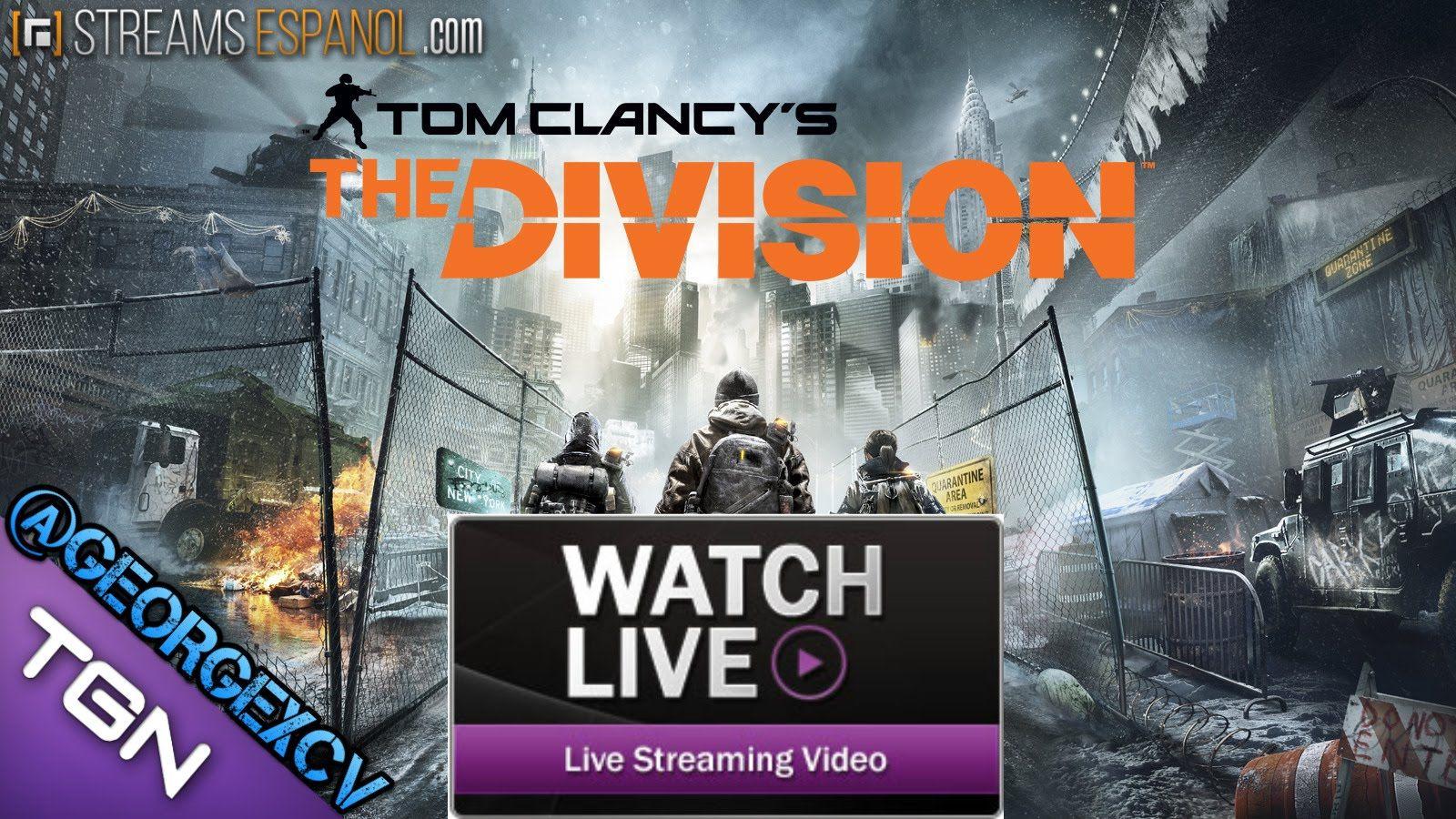 Tom Clancy S The Division Gameplay El Inicio De Todo Twitch Juegos Georgexcv Juegos De Xbox One Tom Clancy The Division Ps4