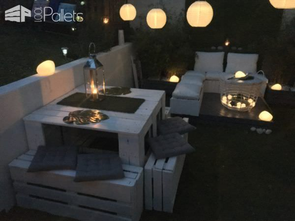 Elegant Garden Lounge Set | DIY Outdoor Living | Outdoor ...