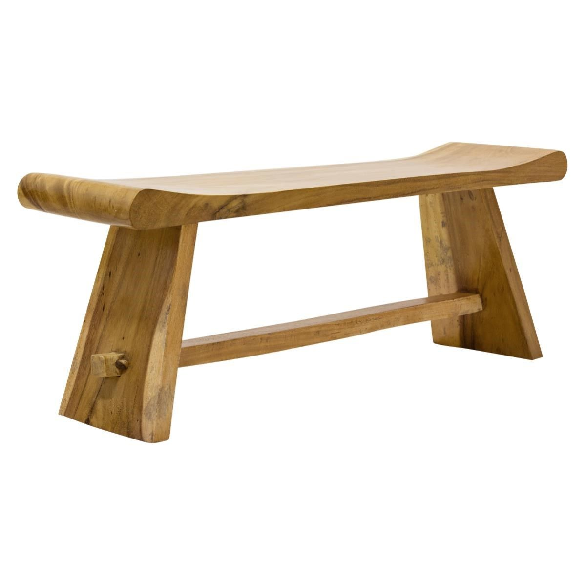 Surin Zen Bench | Monkey pod wood, Occasional chairs and Japanese style