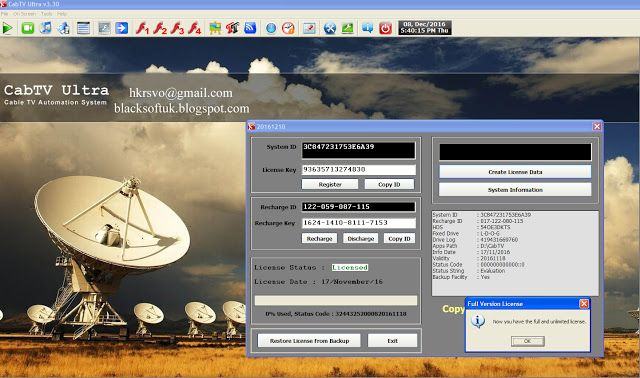 All Full Version Software Collection: CabTV ultra Full