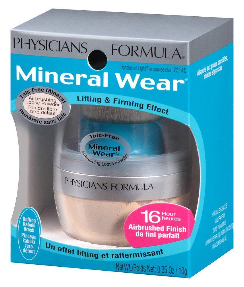 Physicians Formula Mineral Wear TalcFree Mineral