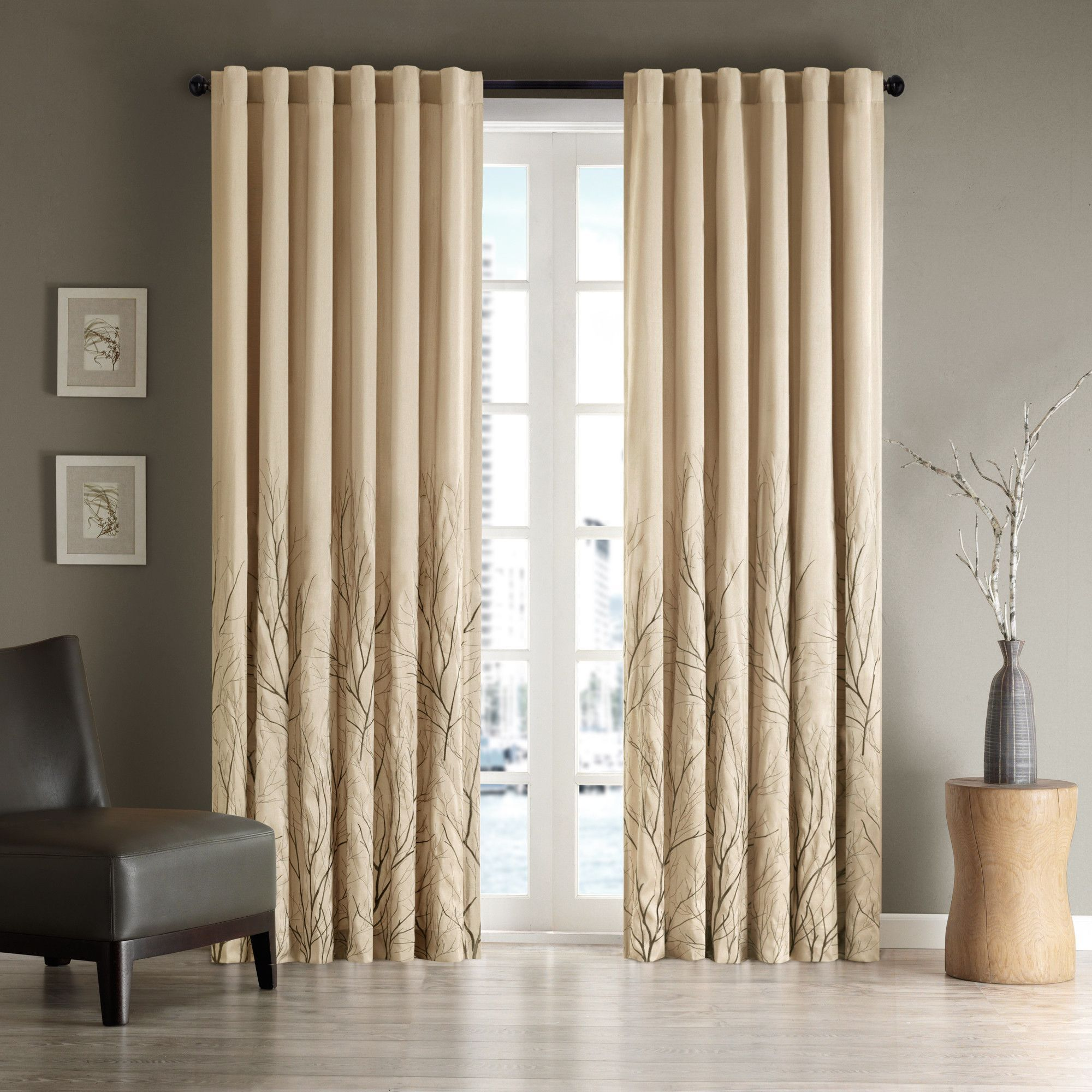 Dining room window coverings  andora window single curtain panel  products  pinterest  products