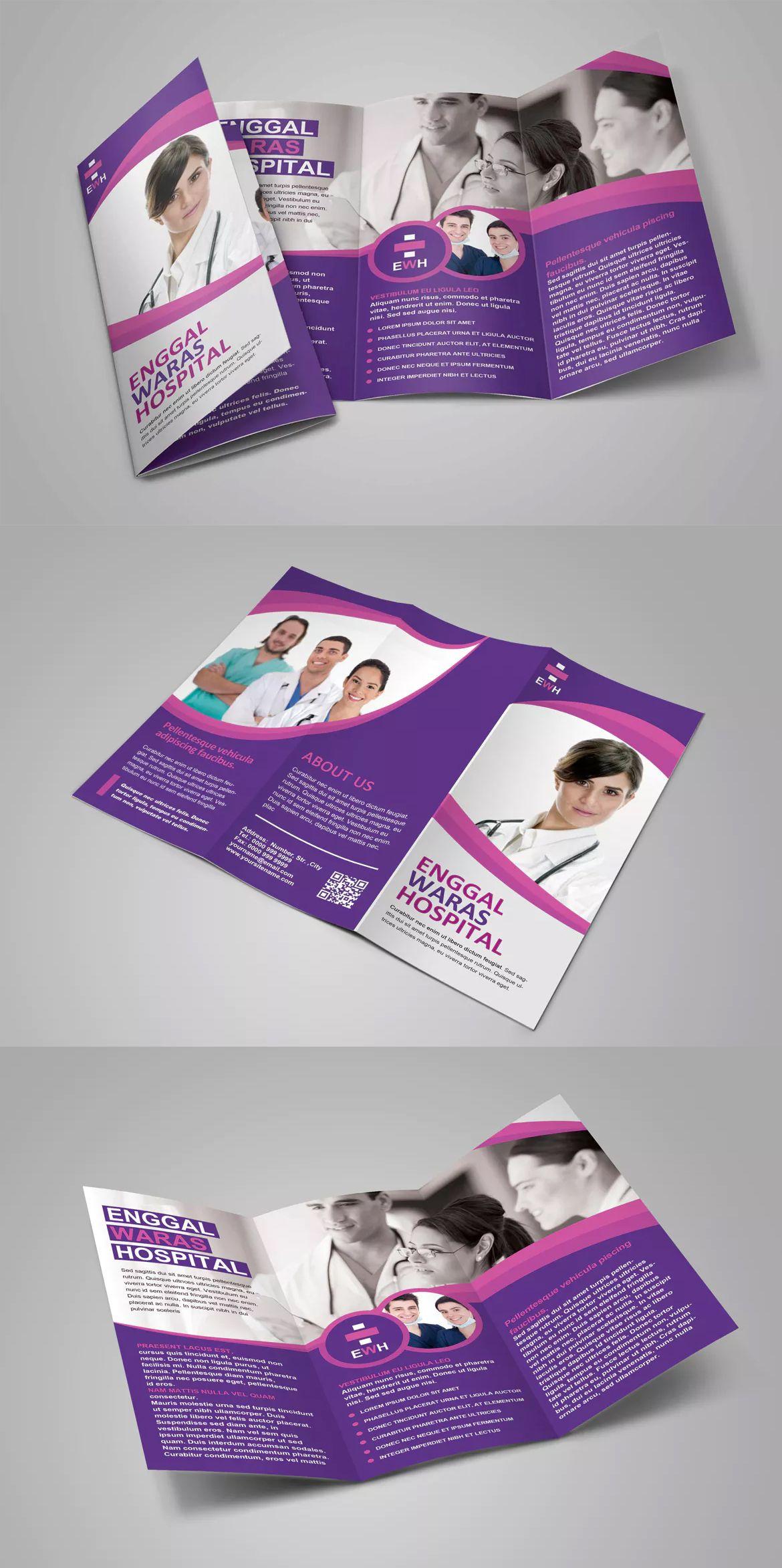 medical brochure template psd leaflets pinterest brochure