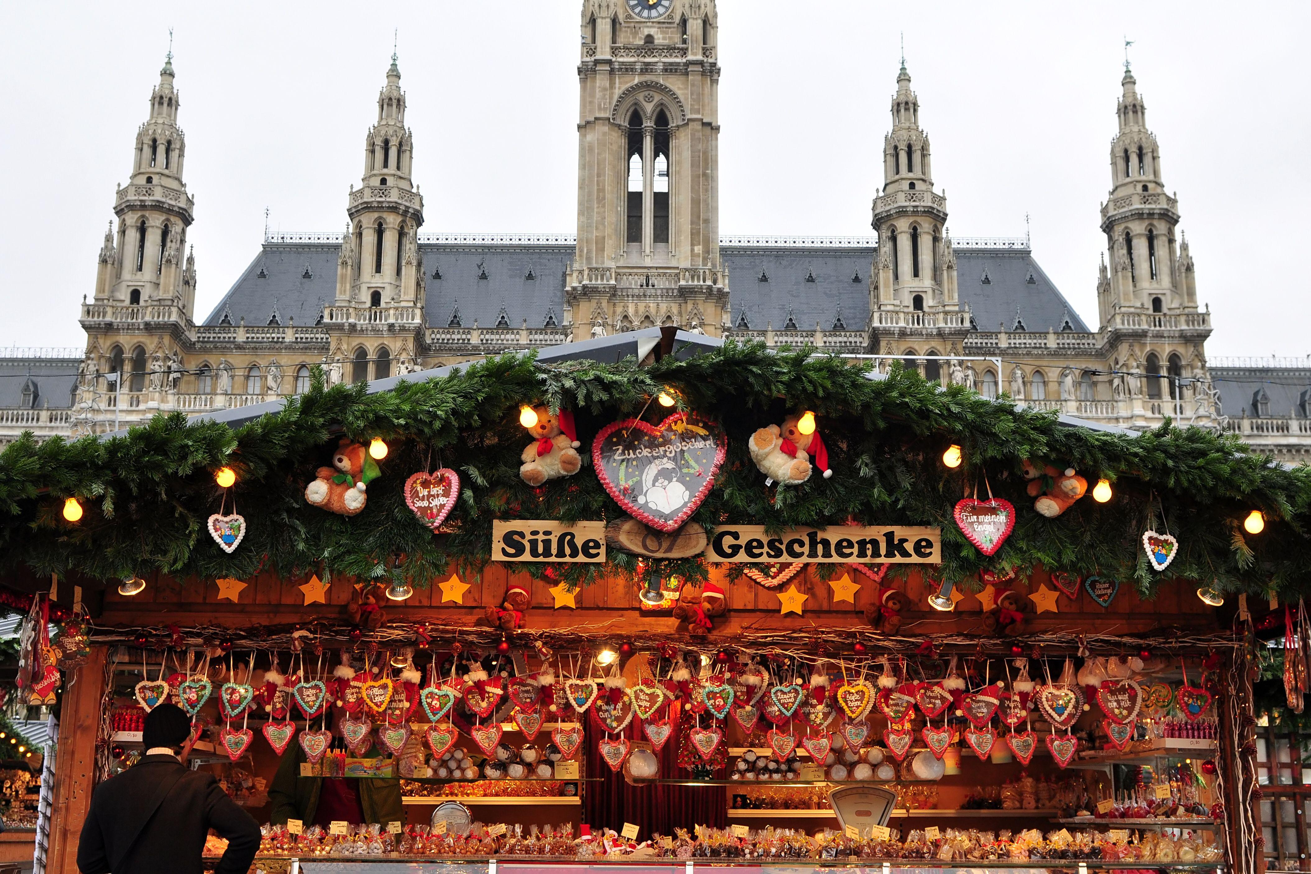 Christmas In Austria Holidays.Austria By Train Christmas Markets German Christmas