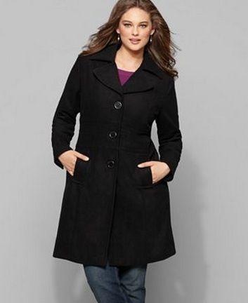 piniful.com plus size winter coat (10) #plussizefashion | Plus ...
