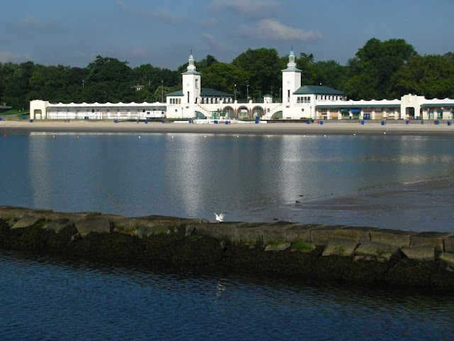 Beach at playland park rye ny rye ny rye beach port - Village beer garden port chester ...