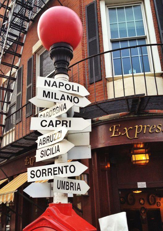 Boston, Massachusetts - The North End. …