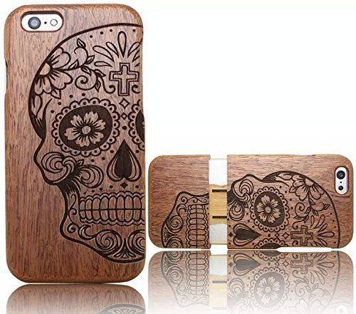 custodia iphone legno