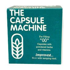 """The Capsule Machine, to fill """"00"""" size capsules"""