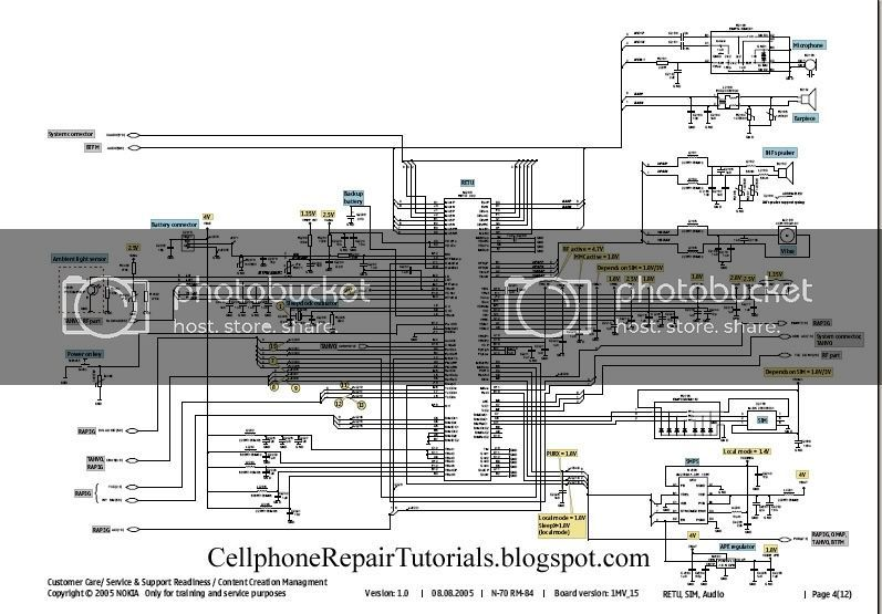 Free Cellphone Repair Tutorials How To Read Cellphone S Schematic Diagrams In 2020 Electronic Circuit Projects Spectrum Analyzer Circuit Projects