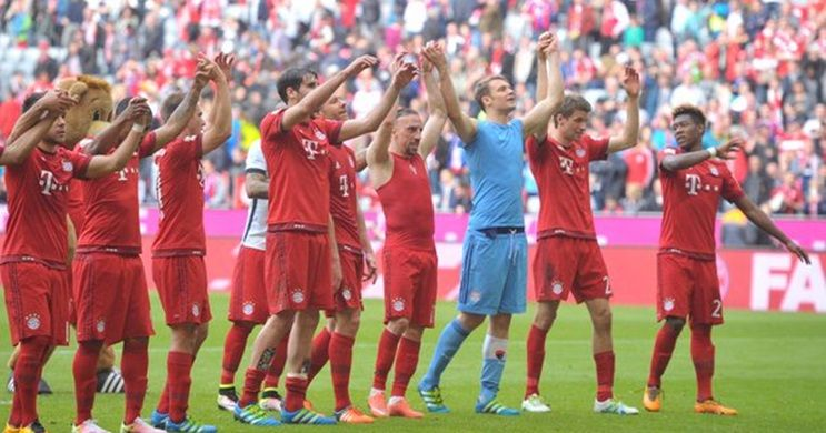 Kalahkan Frankfurt 1 0 Bayern Ciptakan Rekor Baru Di Bundesliga Bayern Munich Munich Frankfurt