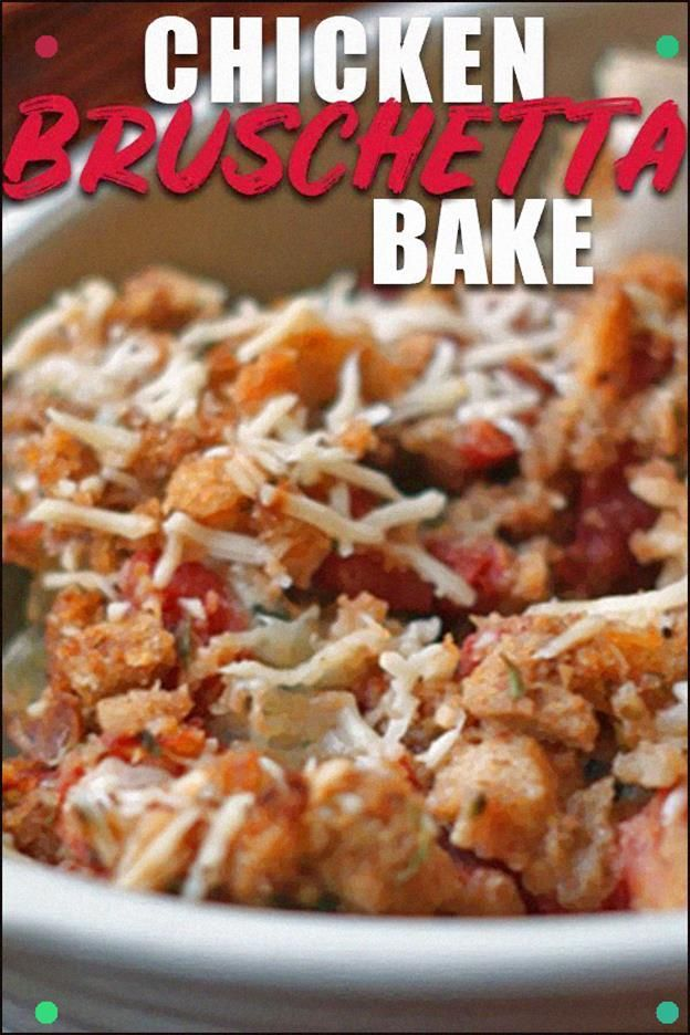 Photo of This Bruschetta Chicken Bake Is About The Easiest Thing You …