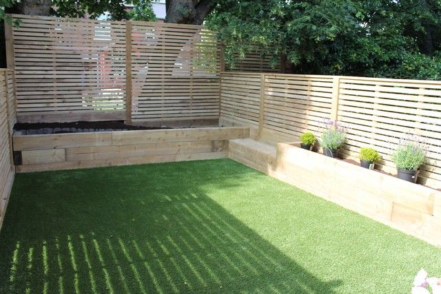 railway sleepers garden ideas Google Search Landscaping