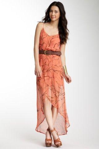 Gypsy05: Iris Tulip Silk Maxi Dress | Fashion for petite women
