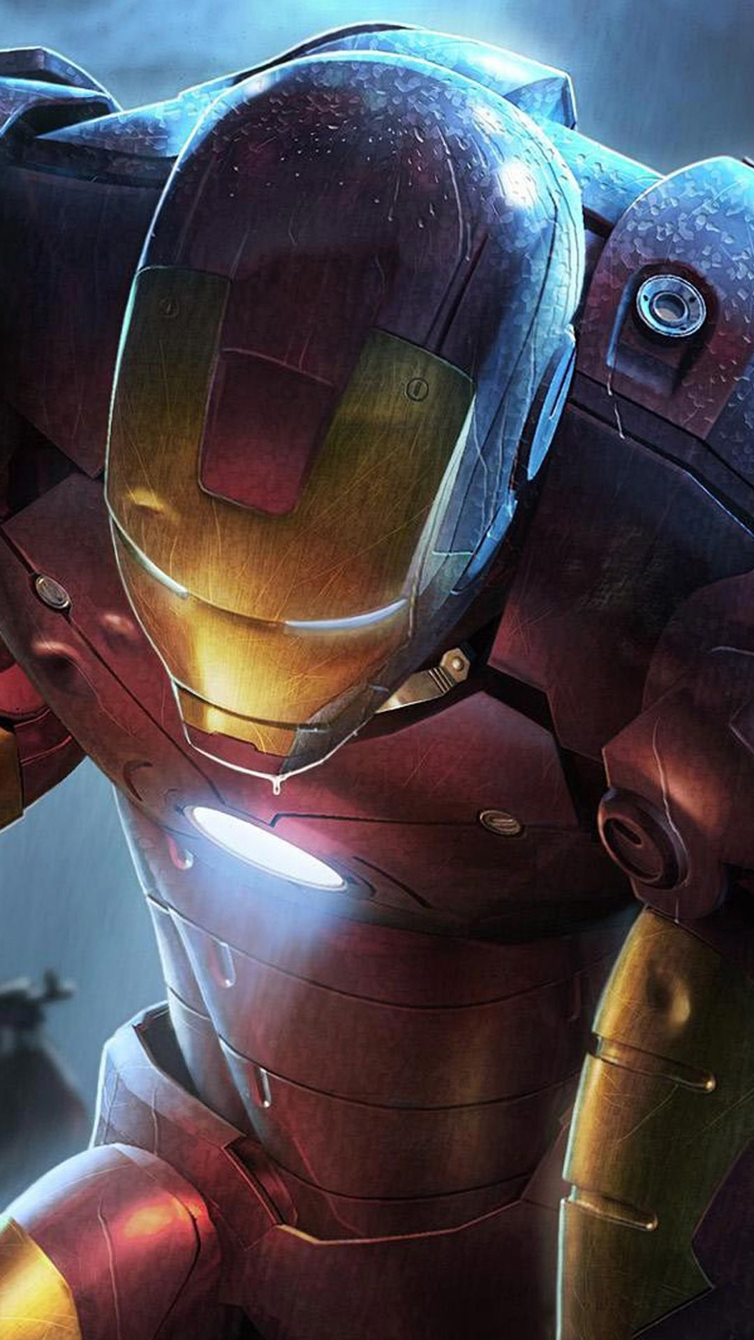 Iron Man Illustration Android Wallpaper アメコミ ヒーロー、アベンジャー