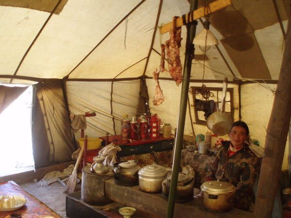 Tibetan Nomad Tent - inside & Tibetan Nomad Tent - inside   Home   Pinterest   Tents Tibet and ...